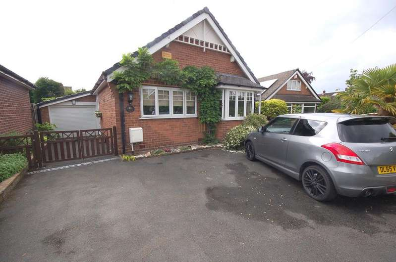 3 Bedrooms Detached Bungalow for sale in Greenway Road, Heald Green, Cheadle, Cheshire SK8