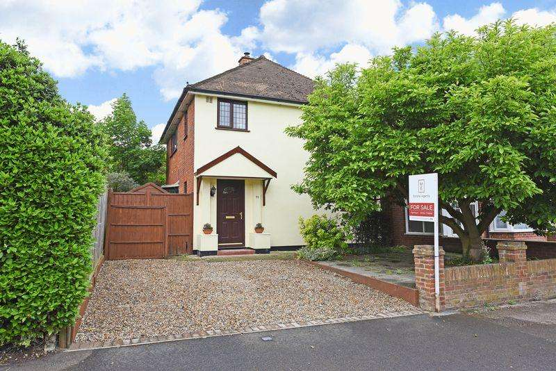 3 Bedrooms Detached House for sale in Holly Road, Aldershot