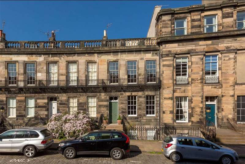 5 Bedrooms Terraced House for sale in 34 Danube Street, Stockbridge, Edinburgh, EH4