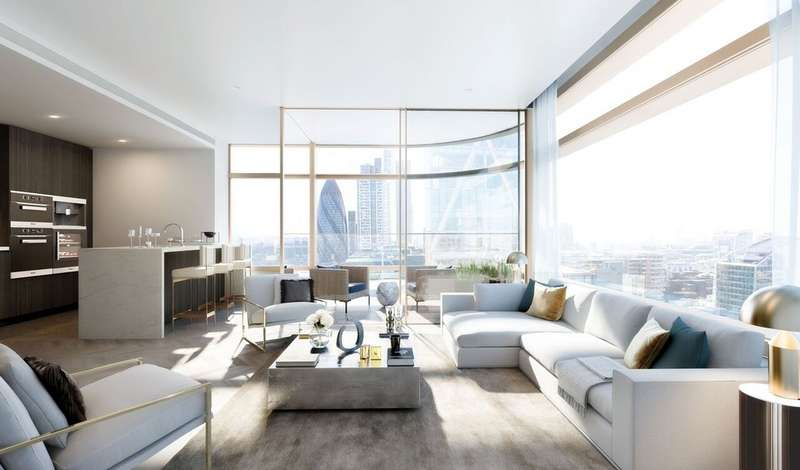 2 Bedrooms Apartment Flat for sale in Principal Tower, Worship Street, EC2A 2BA