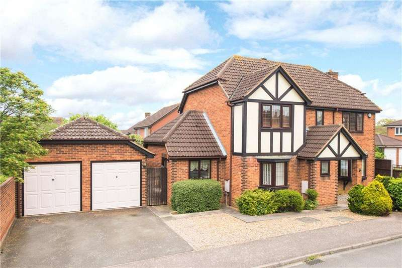 4 Bedrooms Detached House for sale in Brett Drive, Bromham, Bedfordshire