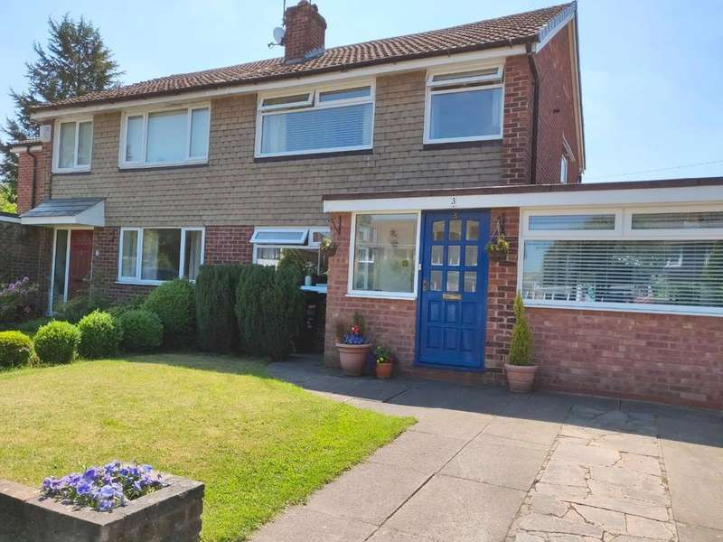 3 Bedrooms Semi Detached House for sale in Teal Avenue, Knutsford