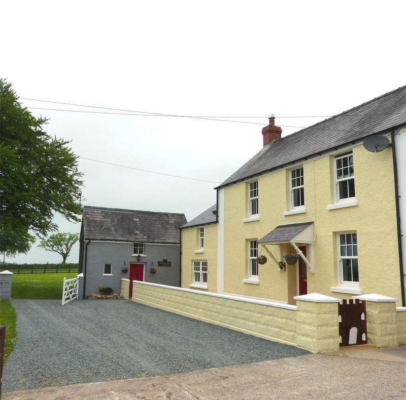 3 Bedrooms House for sale in Castell Hywel, Lampeter Velfrey, Narberth, Pembrokeshire