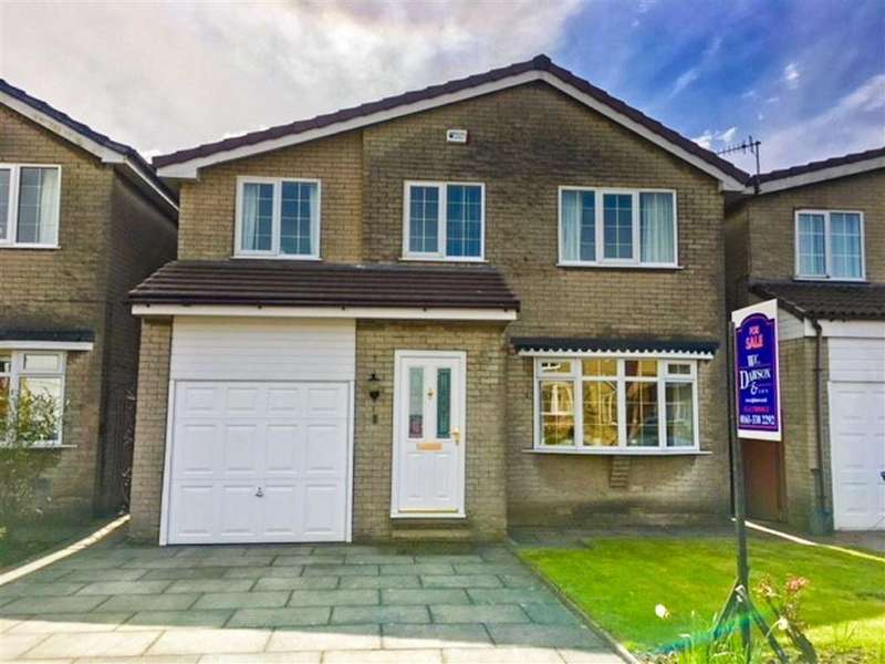 4 Bedrooms Detached House for sale in Elm Close, Mottram In Longdendale