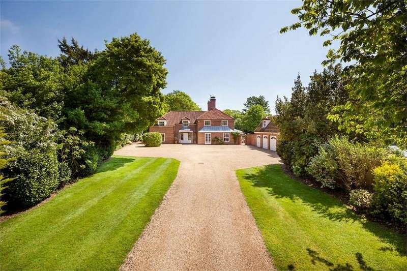 5 Bedrooms Detached House for sale in Hill House, Cambridge Road, Quendon, Saffron Walden
