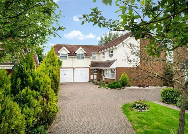 5 Bedrooms Detached House for sale in Nimrod Close, St Albans, Hertfordshire