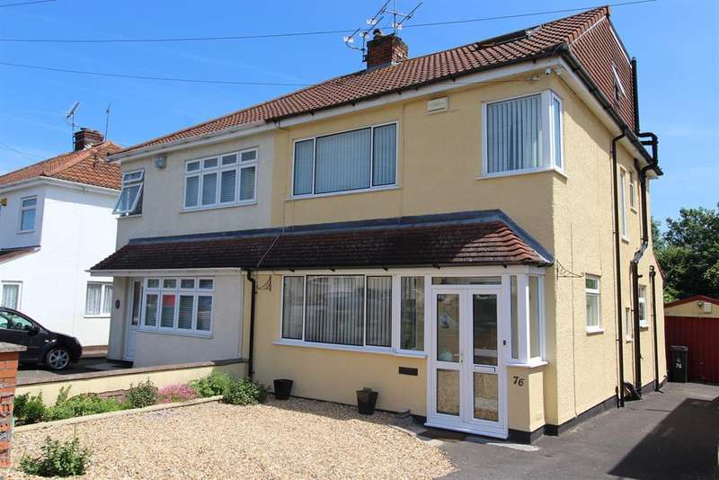 4 Bedrooms Semi Detached House for sale in Whitecross Avenue, Whitchurch, BS14 9JE