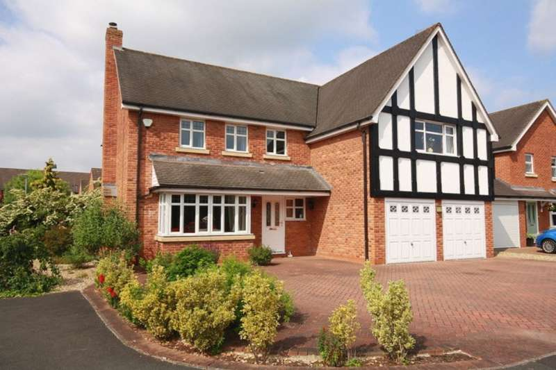 5 Bedrooms Detached House for sale in Chater Drive, Stapeley, Nantwich, CW5