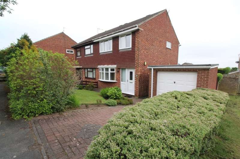 3 Bedrooms Semi Detached House for sale in Scripton Gill, Brandon, Durham, DH7