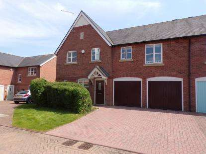 4 Bedrooms Semi Detached House for sale in St. Clements Court, Weston, Crewe, Cheshire