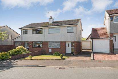 3 Bedrooms Semi Detached House for sale in St. Andrews Gardens, Dalry