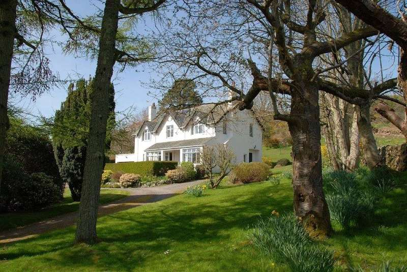 4 Bedrooms Detached House for sale in Auchenbrae, Rockcliffe, Dalbeattie, Dumfries and Galloway, DG5