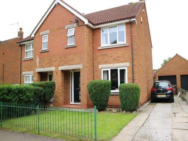 3 Bedrooms Semi Detached House for sale in Lindengate Avenue, Hull, HU7