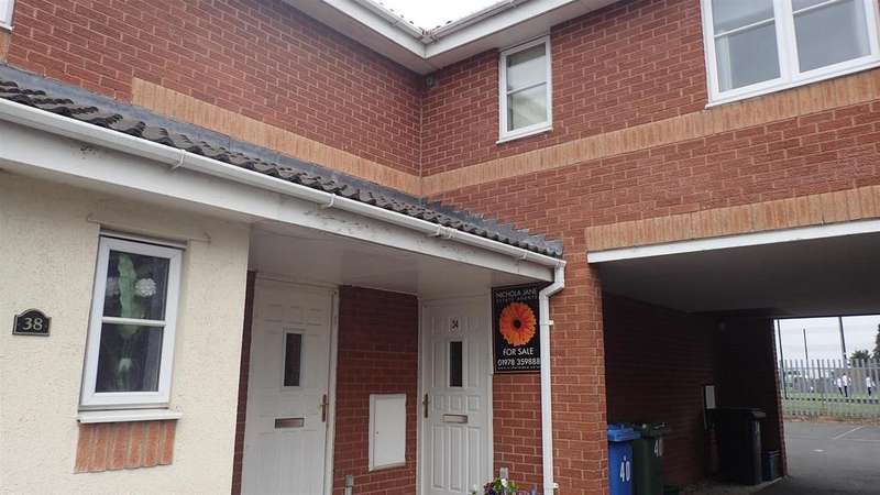1 Bedroom Apartment Flat for sale in Falcon Road, Sutton Fields, Wrexham