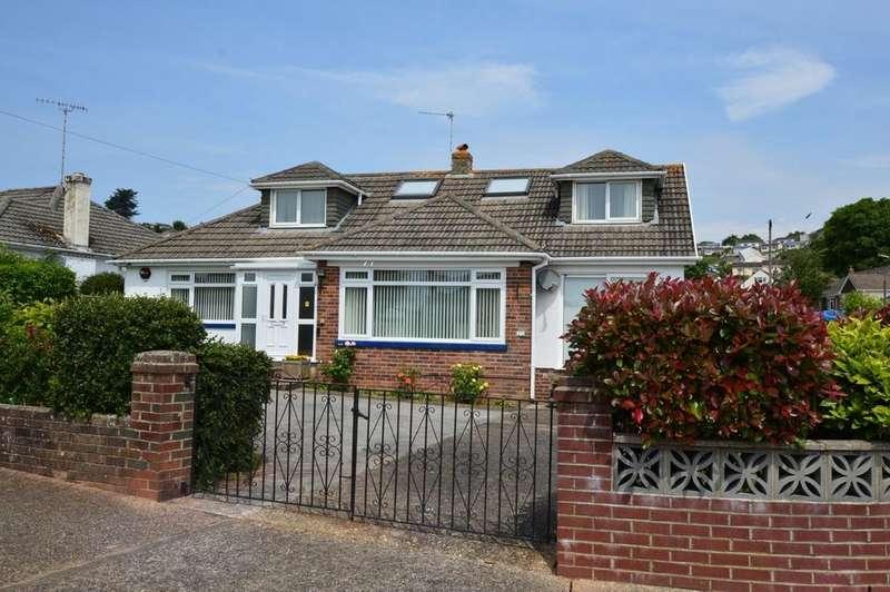 4 Bedrooms Detached Bungalow for sale in Watcombe Park, Torquay