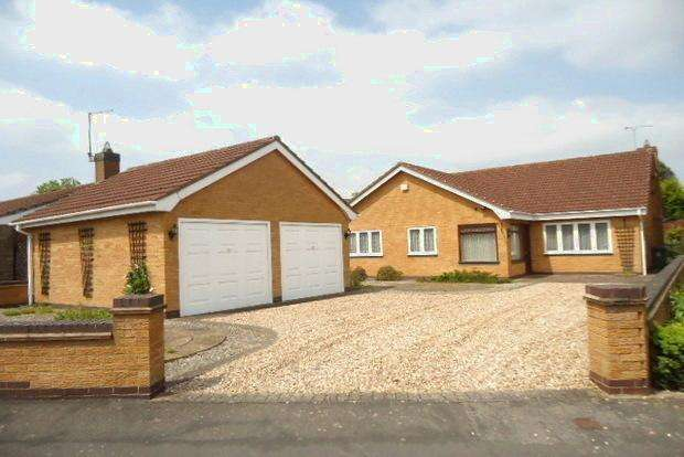 3 Bedrooms Detached Bungalow for sale in Woodpecker Drive, Leicester Forest East, Leicester, LE3