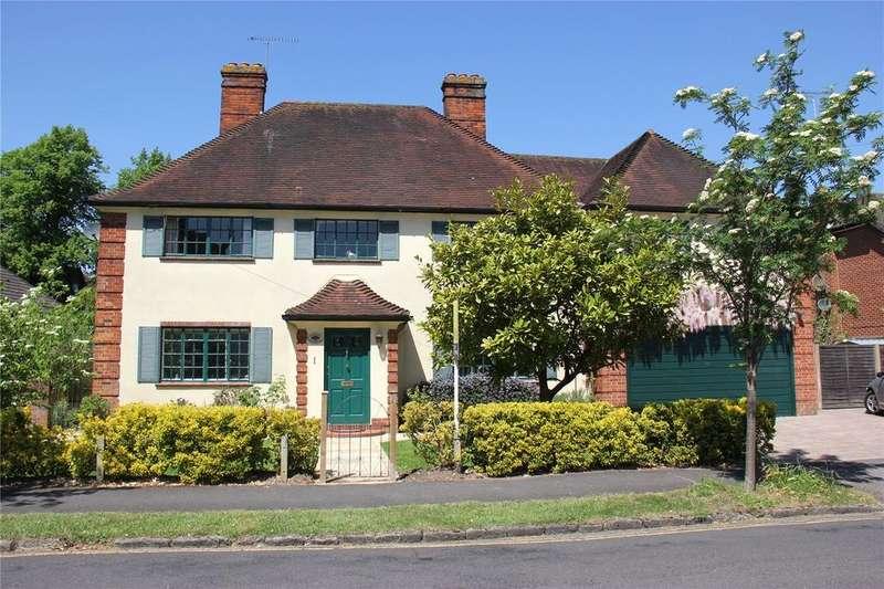 5 Bedrooms Detached House for sale in York Road, Farnham, Surrey, GU9