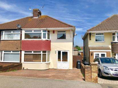 3 Bedrooms Semi Detached House for sale in Broomhill Road, Bristol, Somerset
