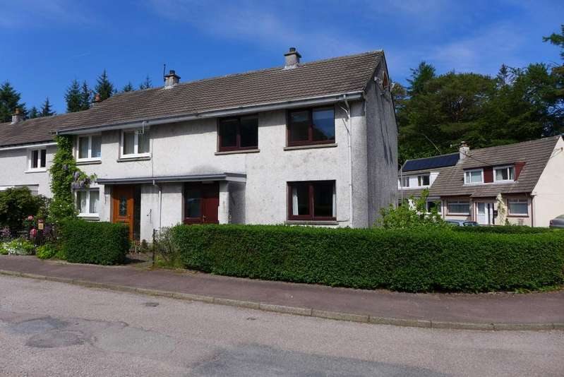 3 Bedrooms End Of Terrace House for sale in 56 Highbank Park, Lochgilphead, PA31 8NN