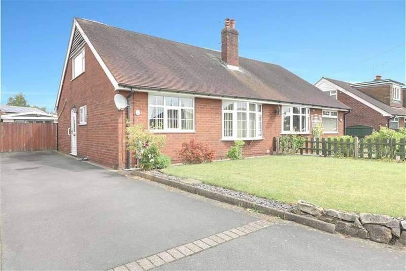 2 Bedrooms Semi Detached Bungalow for sale in Proctors Lane, Ettiley Heath, Sandbach
