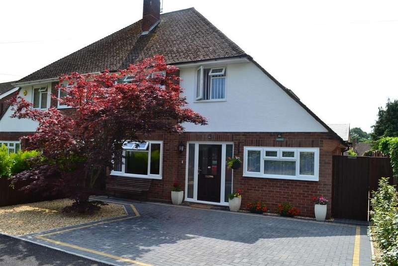 3 Bedrooms Semi Detached House for sale in Newlands Drive, Leominster