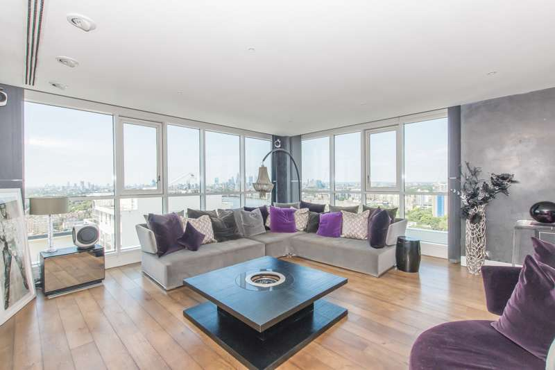 3 Bedrooms Penthouse Flat for rent in Eaton House, Westferry Circus, Canary Wharf, E14