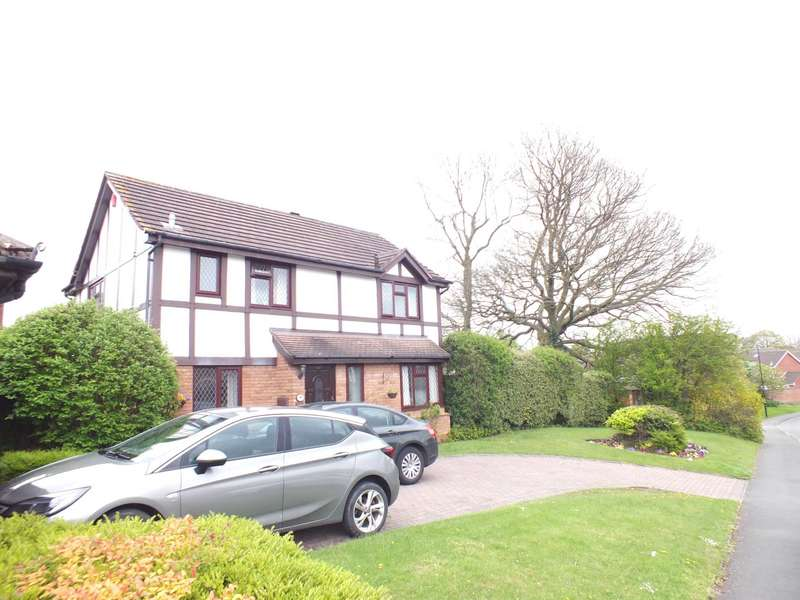 4 Bedrooms Detached House for sale in Calder Drive, Walmley