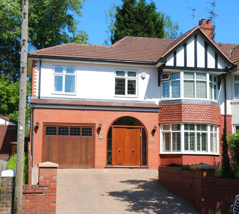 6 Bedrooms Semi Detached House for sale in Park Road, Prestwich