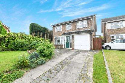 4 Bedrooms Detached House for sale in Cumbrian Croft, Halesowen, West Midlands