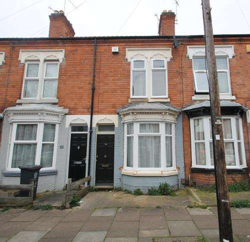 2 Bedrooms Terraced House for sale in Noel Street, Leicester