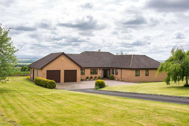 4 Bedrooms Detached Bungalow for sale in Roundlewood, Stichill, Kelso, Scottish Borders, TD5