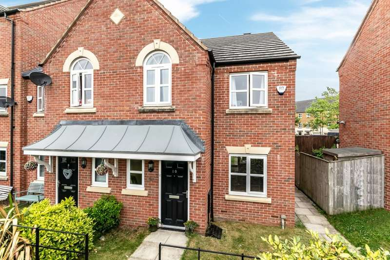3 Bedrooms Semi Detached House for sale in Adamson Close, Edgewater Park, Warrington