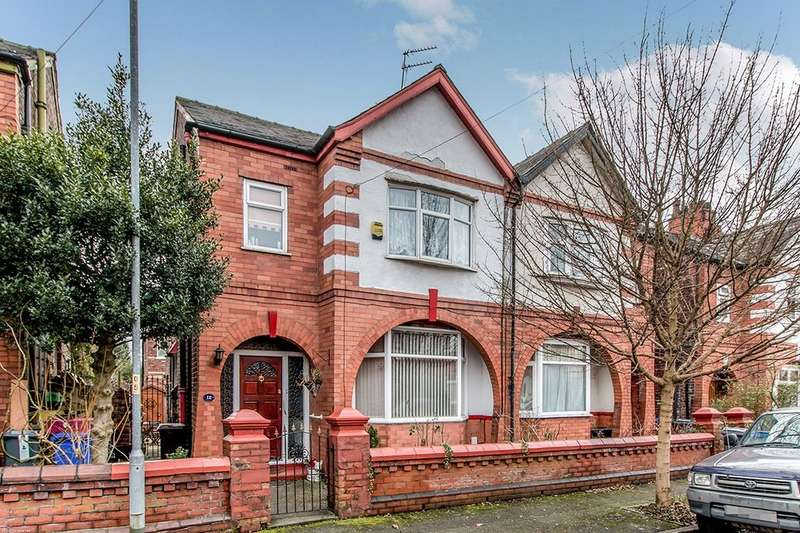 3 Bedrooms Semi Detached House for sale in Carson Road, Burnage , Manchester, M19