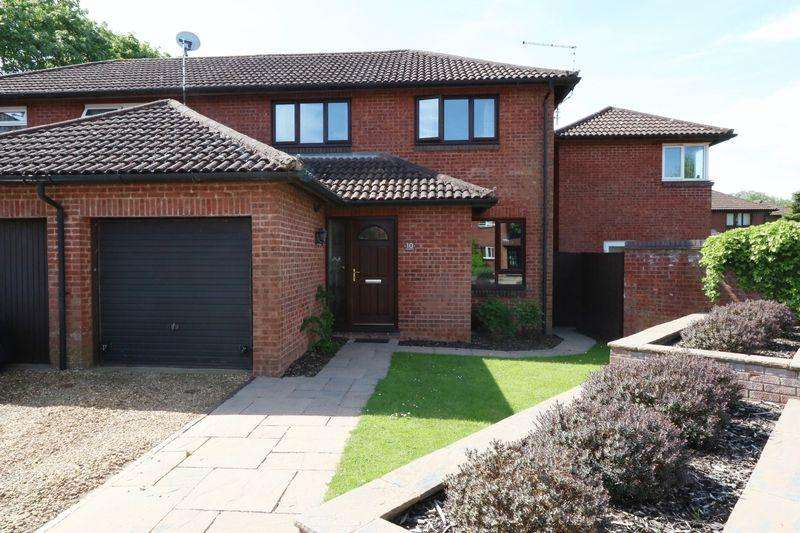 3 Bedrooms Semi Detached House for sale in Brindlebrook, Milton Keynes