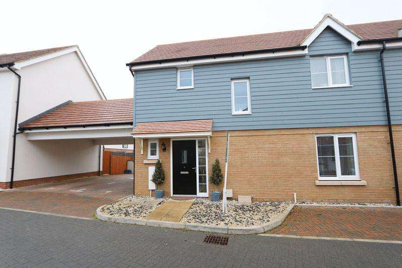 3 Bedrooms Semi Detached House for sale in Hill Pastures, Milton Keynes