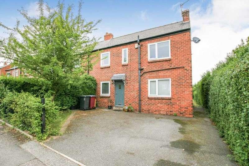 3 Bedrooms Semi Detached House for sale in Fletcher Avenue, Dronfield, Derbyshire