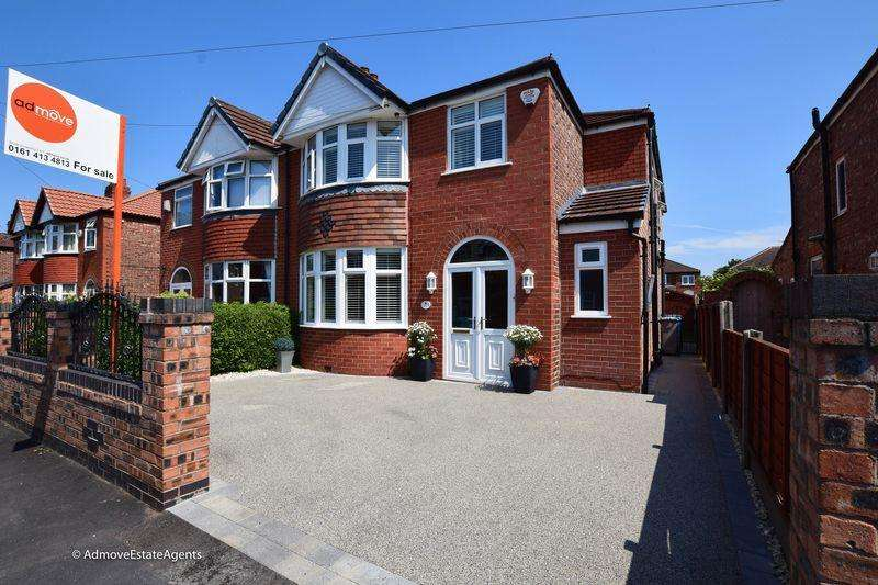 4 Bedrooms Semi Detached House for sale in Brookfield Drive, Timperley, WA15