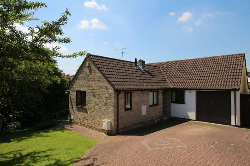 3 Bedrooms Detached Bungalow for sale in Outstanding outlook over the village towards the Mendips