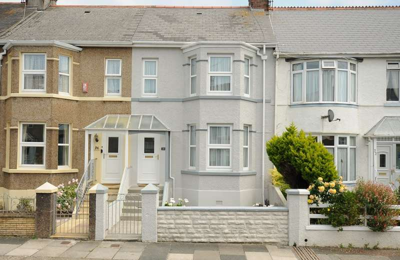 4 Bedrooms Terraced House for sale in Ridge Park Ave PL4