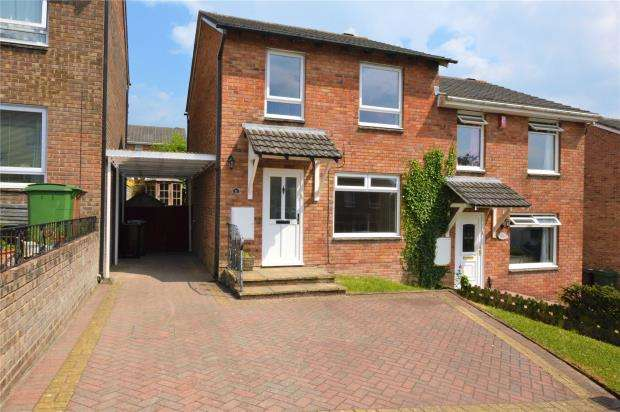 3 Bedrooms Semi Detached House for sale in Collaford Close, Plymouth, Devon