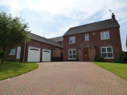 4 Bedrooms Detached House for sale in Moorlands Road, Ridgeway, Ambergate, Belper