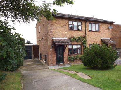 2 Bedrooms Semi Detached House for sale in Bryn Rhyg, Colwyn Bay, Conwy, LL29