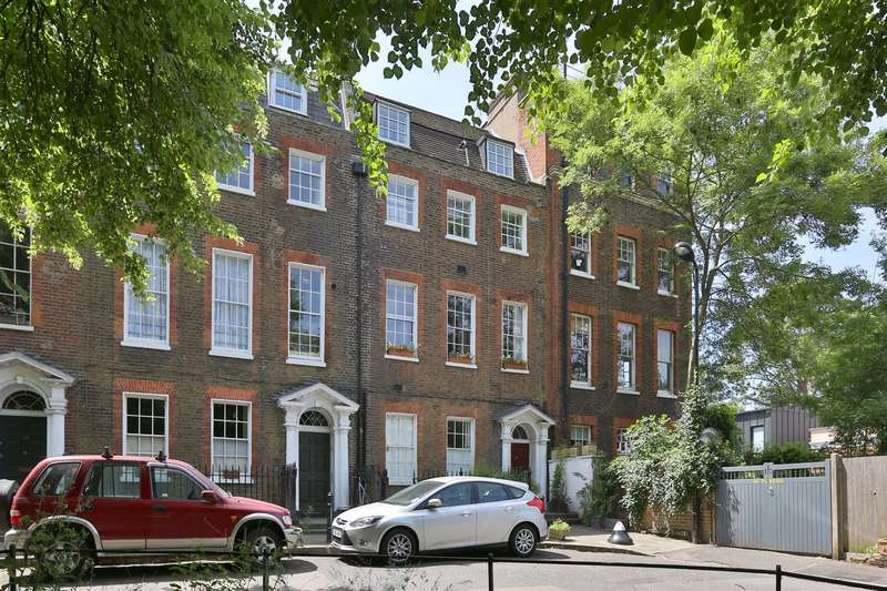 2 Bedrooms Flat for sale in Clapton Terrace, London