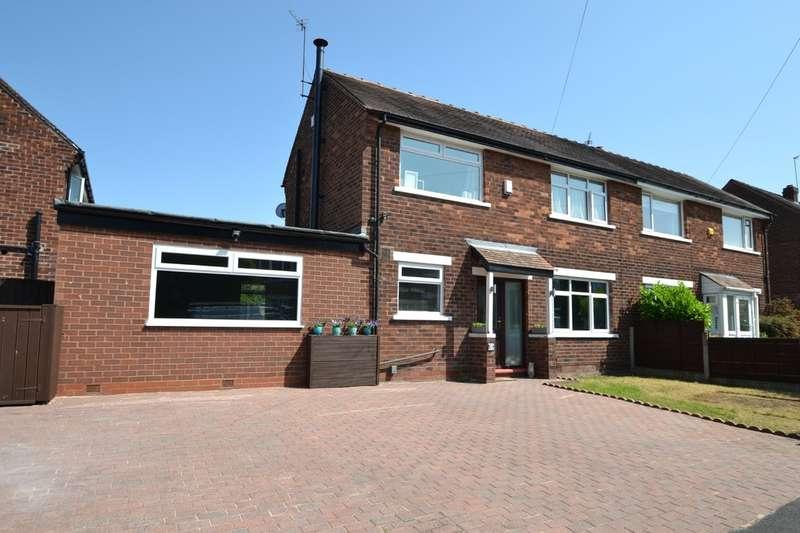 2 Bedrooms Semi Detached House for sale in Borrowdale Avenue, Gatley