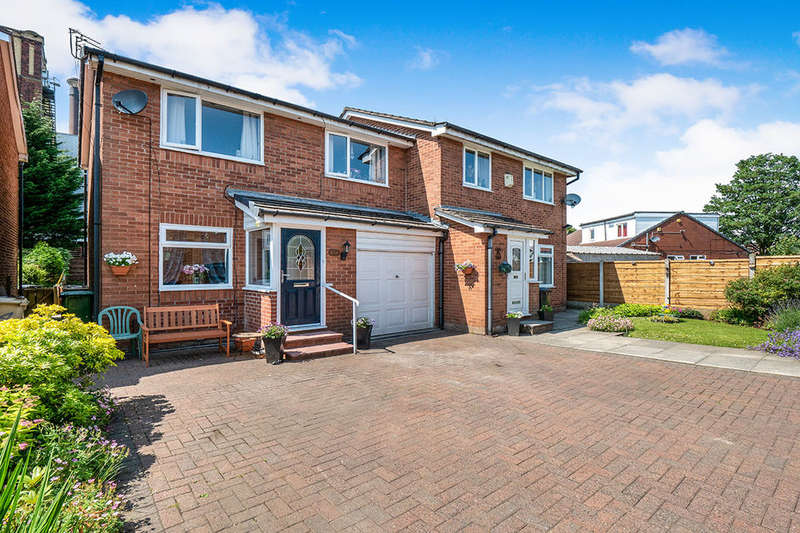 3 Bedrooms Semi Detached House for sale in Seddon Gardens, MANCHESTER, M26