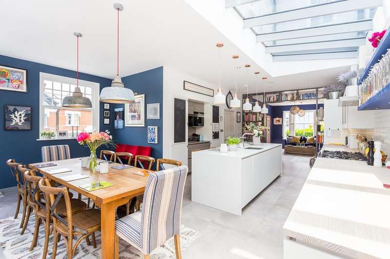 4 Bedrooms Property for sale in Russell Road, Crouch End, London, N8