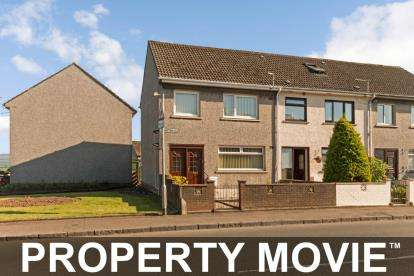2 Bedrooms End Of Terrace House for sale in Whitehall, Maybole