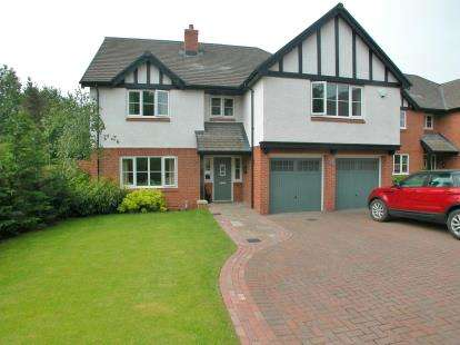 4 Bedrooms Detached House for sale in Belvedere Park, Neston, Cheshire, CH64