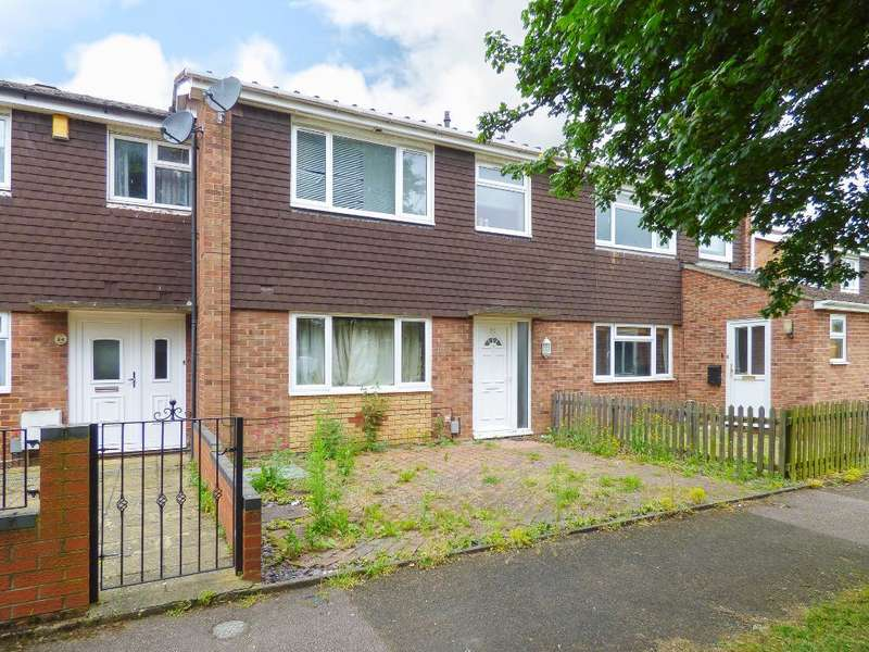 3 Bedrooms Terraced House for sale in Salcombe Close, Bedford, MK40 3BA