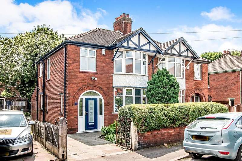 3 Bedrooms Semi Detached House for sale in St. Hildas Road, Northenden, Manchester, M22